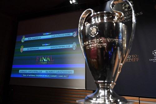 قرعة دوري أبطال أوروبا : ريال مدريد بمواجهة أتلتيكو مدريد وموناكو ضد يوفنتوس في نصف النهائي