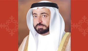 حاكم الشارقة يتقبل التعازي في وفاة خالد بن سلطان القاسمي