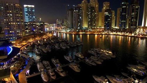 Yacht Marina in Dubai