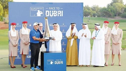In the presence of Fahim Al Qasimi, Al Thayer won the title titled 'Golf'.
