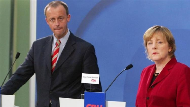 Friedrich Mertz, Chancellor Merkel's successful candidate