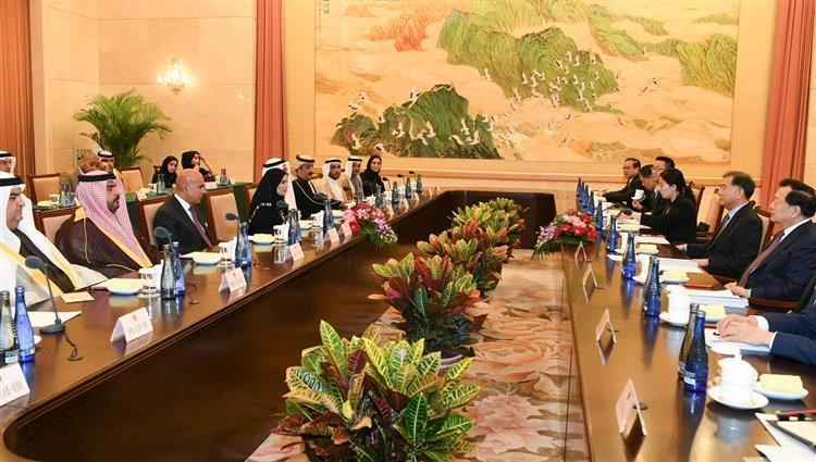 Amal al-Qubaisi discusses Wang Yang's ways of strengthening the strong and historic co-operation of the two countries