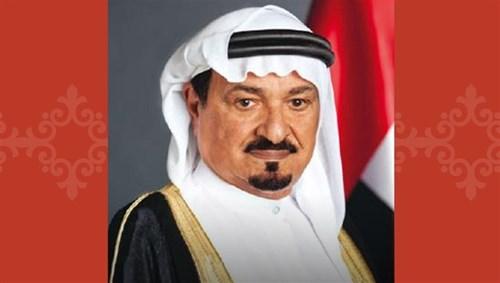 His Highness Sheikh Humaid bin Rashid Al Nuaimi, member of the Supreme Court and Ruler of Ajman
