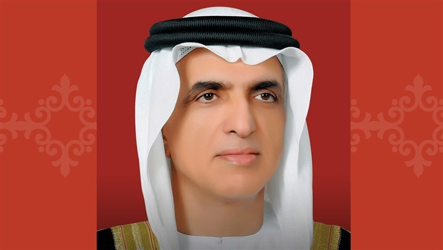 His Highness Sheikh Saud Bin Saqr Al Qasimi, member of the Supreme Court and Ruler of Ras Al Khaimah