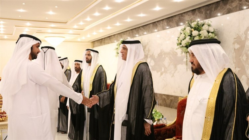 Ruler of Ras Al Khaimah still greets good-natured Eid al-Adha
