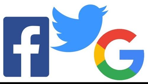 """""""فيسبوك"""" و""""تويتر"""" و""""جوجل"""""""