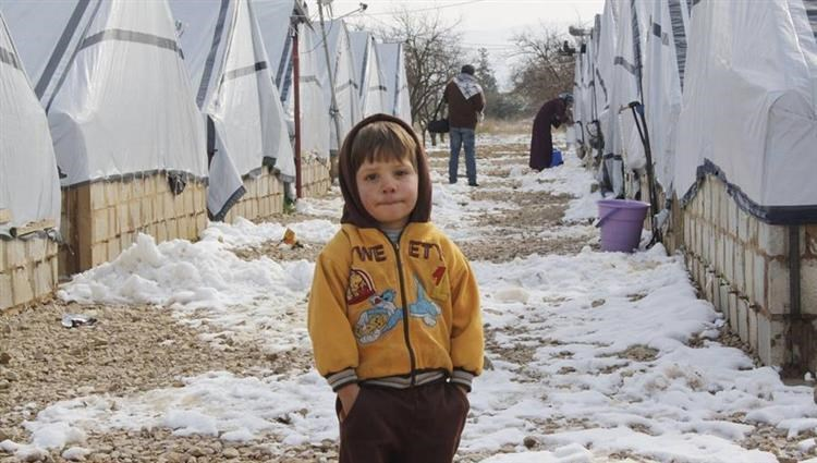 The tragic situation of displaced persons in the camps