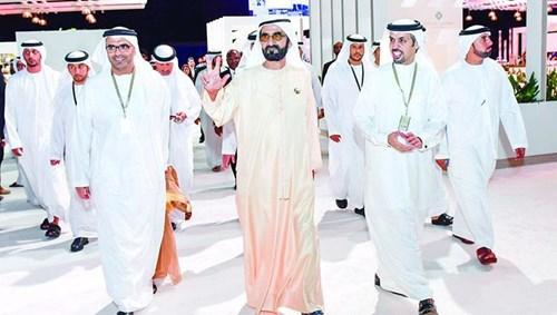 محمد بن راشد: دبي ملتقى رجال المال والأعمال - صحيفة الاتحاد