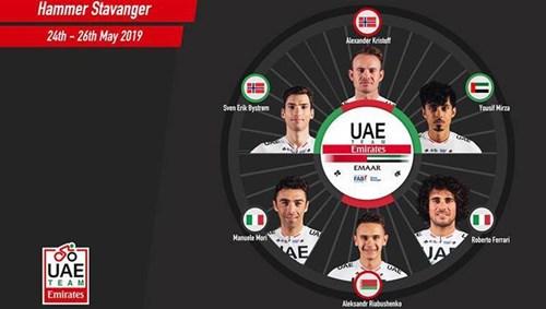 الإمارات للدراجات  إلى تحدي هامر