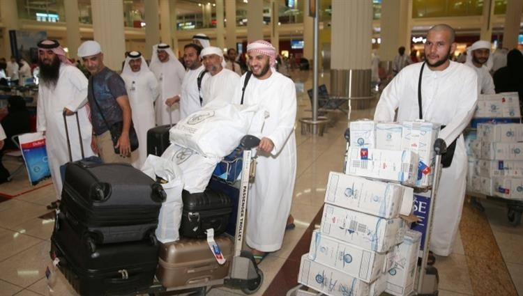 Abu Dhabi airports have completed preparations to receive returning pilgrims