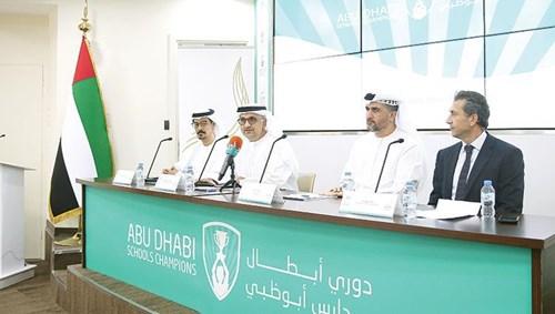 عارف العواني وحميد عبدالله وناصر خميس وحسين مراد خلال المؤتمر الصحفي (تصوير جاك جبور)