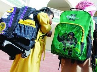 6a3361c606772 الحقيبة المدرسية «هّم يومي» يسبب تشوه العمود الفقري للصغار - صحيفة ...