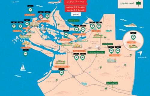 دوبيزل»: توقعات باستقرار إيجارات أبوظبي العام الجاري   جريدة الاتحاد