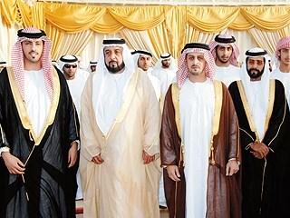 رئيس الدولة يحضر أفراح آل نهيان في العين صحيفة الاتحاد