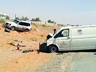 وفاة مواطن وإصابة بحادث تصادم