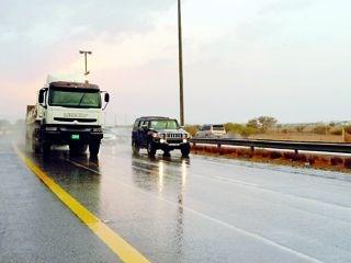 أمطار غزيرة مناطق الفجيرة ورأس
