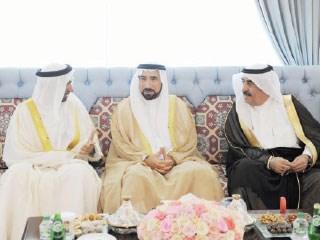 سعود المعلا يواصل استقبال المهنئين