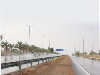 اخبار الامارات العاجلة 13a أمطار غزيرة على العين اخبار الامارات  الامارات اخبار الدار
