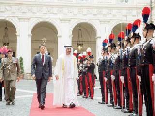 محمد بن زايد: نحرص بقيادة خليفة على دعم علاقات الصداقة والدفع بها إلى الأمام