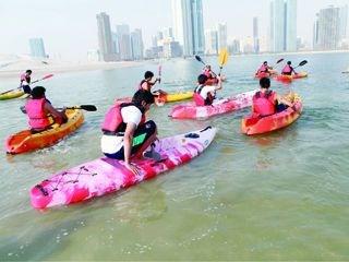 Image result for الكاياك (رياضة القوارب الصغيرة)