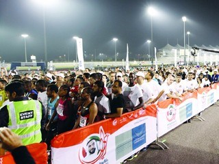 Zayed Marathon1 2014
