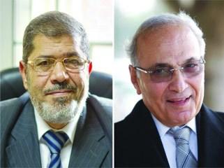 مصر: جولة إعادة شفيق ومرسي