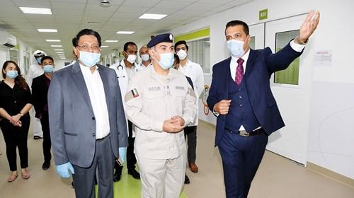 مستشفى «رزين» الميداني يدخل الخدمة