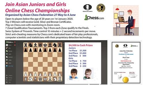 تنطلق بعد غدٍ بمشاركة واسعة.. بطولة آسيا للشطرنج تجتذب النخبة