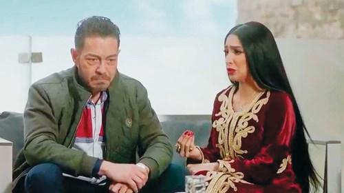 روجينا وأحمد زاهر.. ثنائي الشر «الميكافيلي»
