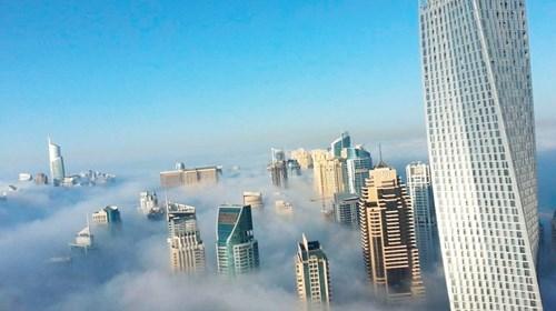 «كيان».. برج لولبي يلتف 90 درجة