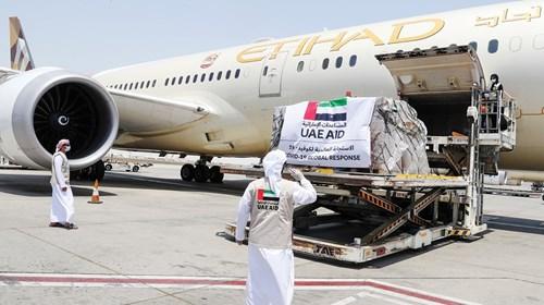 مساعدات إماراتية طبية إلى السودان