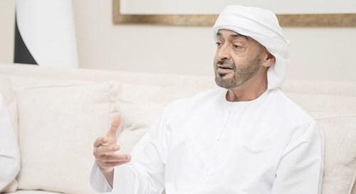 محمد بن زايد: سلسلة الإمداد الغذائي في الدولة لن تتأثر