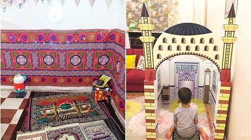 زينة منزلية الصنع.. هكذا حافظ مصريون على بهجة رمضان