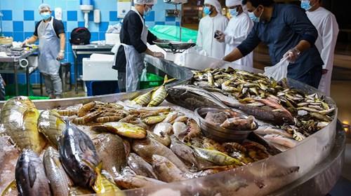 محمد المزروعي.. «بائع السمك»