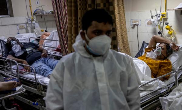 إصابات قياسية جديدة بكورونا في الهند