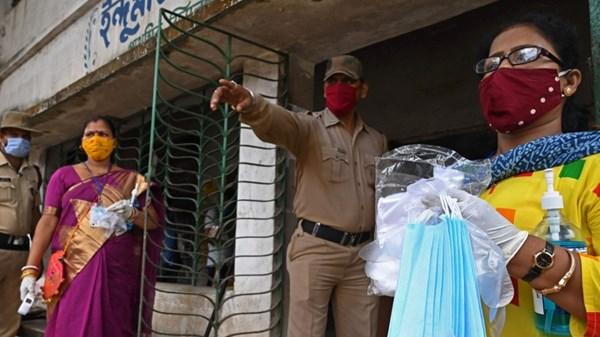الهند تسجل 41383 إصابة جديدة بكورونا